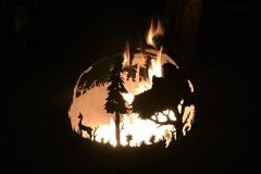 Koš na oheň