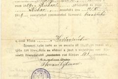 Živnostenský list Ondřej Brož